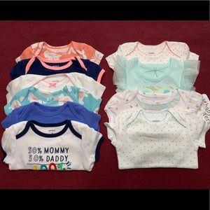 Baby Girl Bodysuit Bundle
